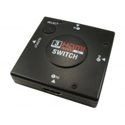 3 Port Full HD HDMI Switch
