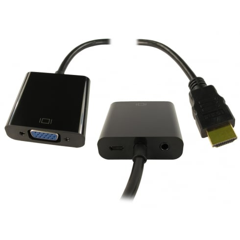 NEWlink HDMI to SVGA & Audio Converter with USB Power (Retail Packed)
