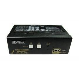 HDMI v2.0 & USB KVM Switch