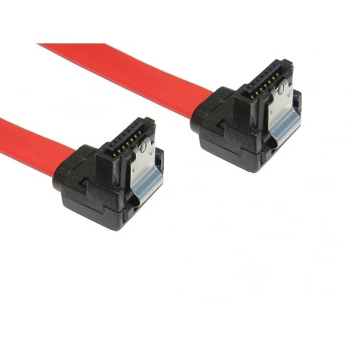 NEWlink Locking SATA v2 Data Cable - Right Angled