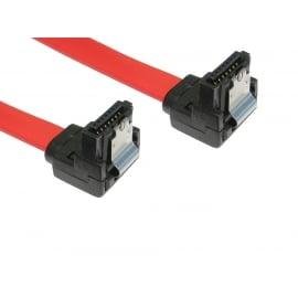Locking SATA v2 Data Cable - Right Angled