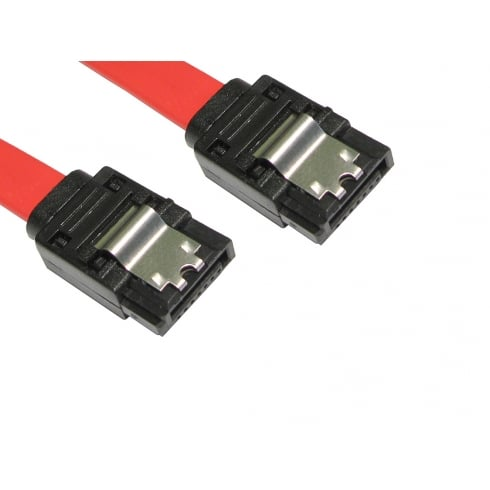 NEWlink Locking SATA v2 Data Cable - Straight to Straight