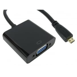 Micro HDMI to SVGA & Audio Converter (Retail Packed)
