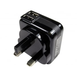 Two port USB charger (2.1 Amp)
