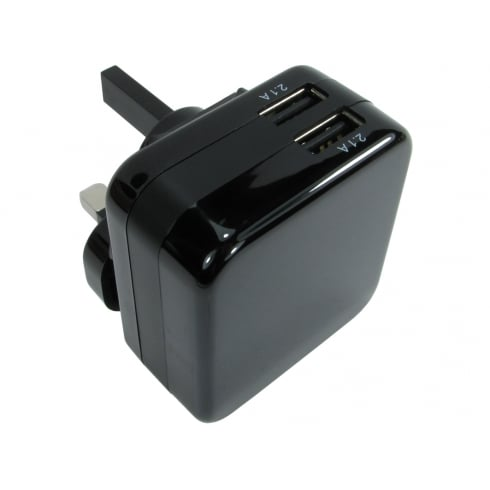 NEWlink Two port USB charger (4.2 Amp)