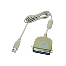 USB to Parallel Printer Cable