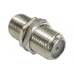 Nickel F type Connector Coupler