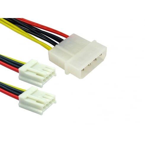 "Power Splitter Cable 5.25"" to 2x 3.5"""