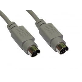 PS/2 Male to Male Data Cable