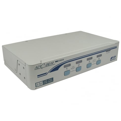 Rextron 4 Port KVM Switch - SVGA & PS/2 or USB