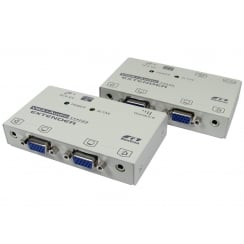 SVGA Extender Over Cat5e with Audio