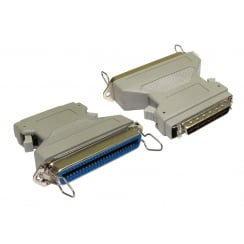 SCSI 1-2 50 Pin Centronic (F) to Half Pitch 50 (M) Adapter