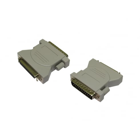 SCSI 1-2 D25 (M) to Half Pitch 50 (F) Adapter