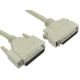SCSI 1-2 D25 (M) to Half Pitch 50 (M) Cable