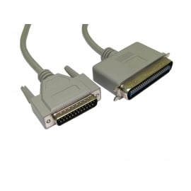 SCSI 1 D25 (M) to 50 Pin Centronic Cable