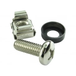 Server Rack Cage Nuts - 50 Pack