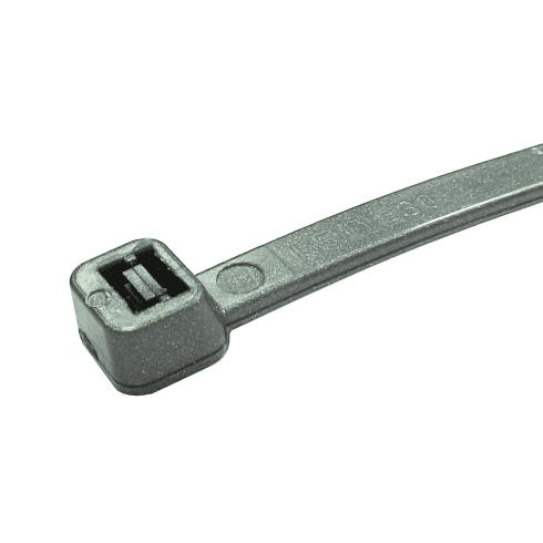 Silver Cable Ties - 100 Pack