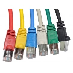 Snagless Shielded Cat6 Patch Cable