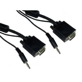 SVGA + 3.5mm Stereo Cable