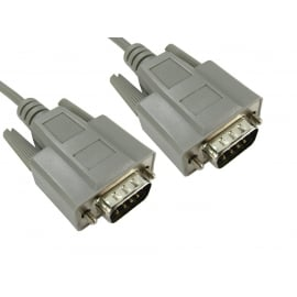 SVGA Monitor Cable - Male Connectors
