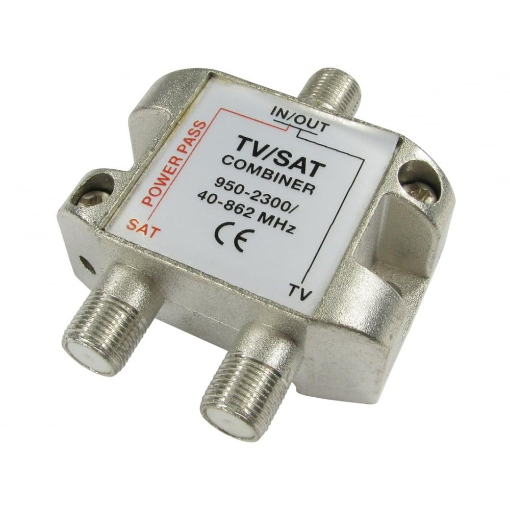 Cables Direct Ltd Tv Satellite Combiner Coax Splitter Wiring Diagram For F Connectors