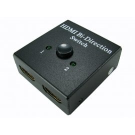 Two Port Bi-Directional Manual HDMI Switch