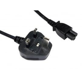 UK Plug to C5 Mains Lead