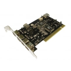 USB 2.0 & Firewire PCI card with Internal Ports