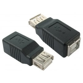 USB 2.0 Type A (F) to Type B (F) Adapter