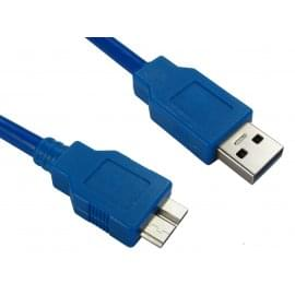 USB 3.0 Type A (M) to Micro B (M) Data Cable