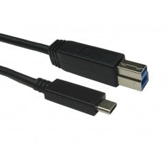 USB C to USB Type B Cable