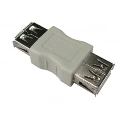 USB2.0 Adapter - Type A Female to Type A Female