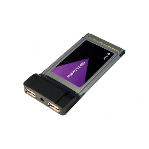 USB20 High Speed 2 Port Cardbus PCMCIA