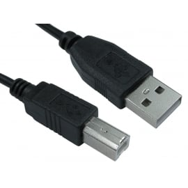 USB2.0 Type A (M) to Type B (M) Cable